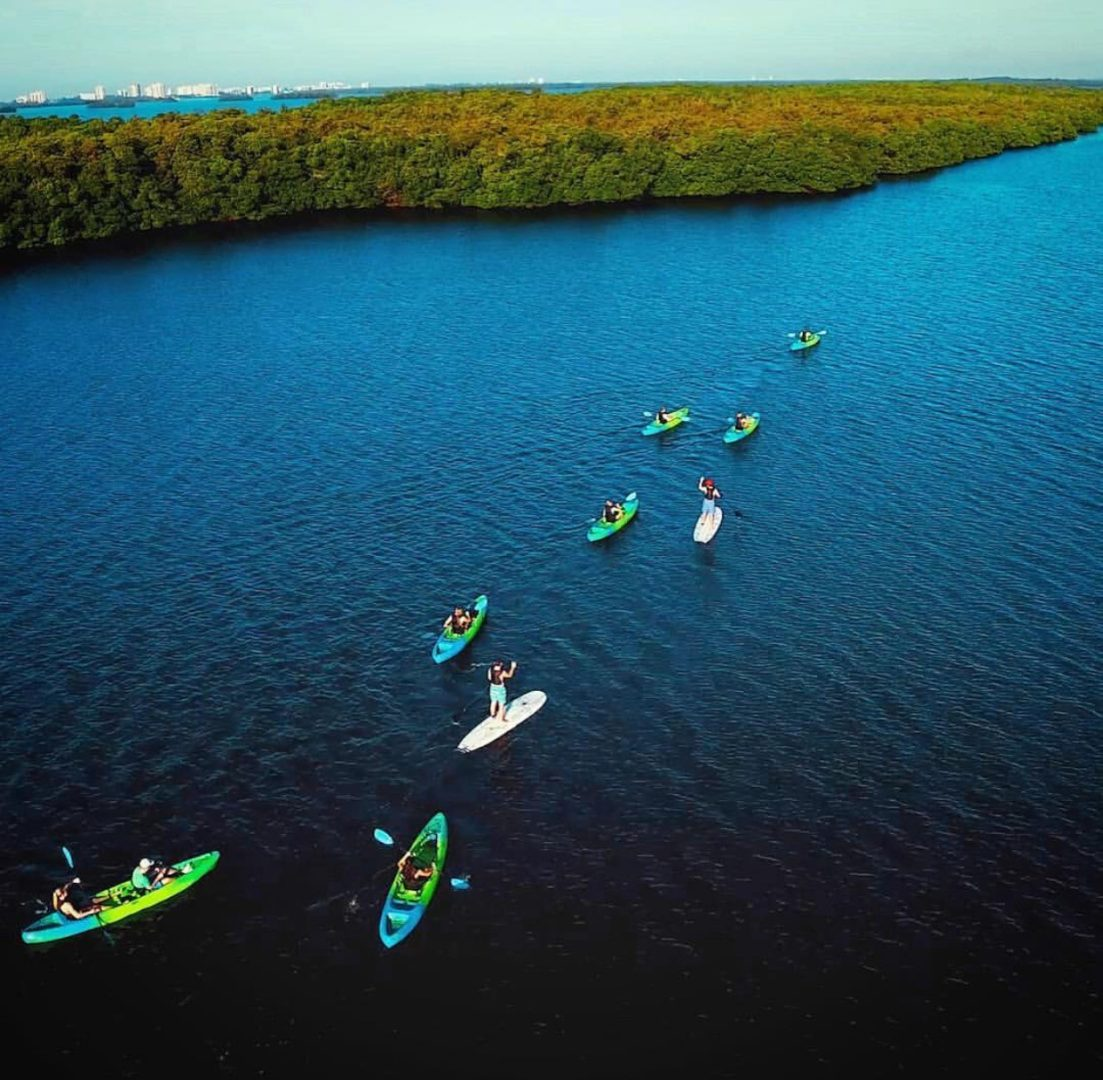All Water Excursions drone shot -Kayak tour (1)