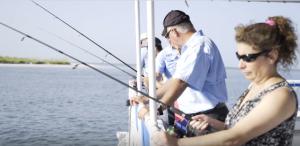 mulitpassenger fishing
